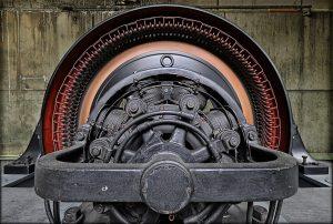 Steyr-Durchbruch Turbine