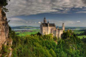 Schloss Neuschwanstein von der Marienbrücke_0986