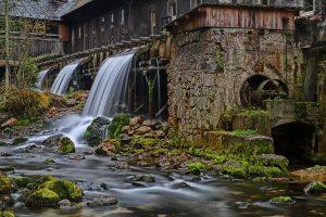 Sensenmühle bei Pießling Ursprung