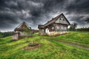 alter Hof in der Steiermark