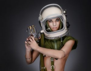 Astronaut Woman